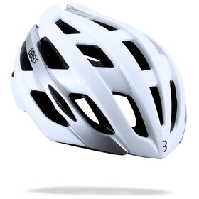 BBB Hawk Casque, glossy white